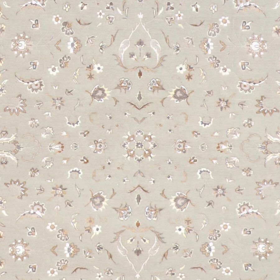 """5'4""""x7'9"""" Traditional Gray Wool Hand-Knotted Rug - Direct Rug Import   Rugs in Chicago, Indiana,South Bend,Granger"""