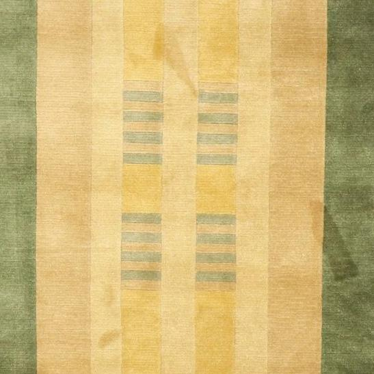 """5'6""""x8'6"""" Contemporary Tan Wool Hand-Knotted Rug - Direct Rug Import 