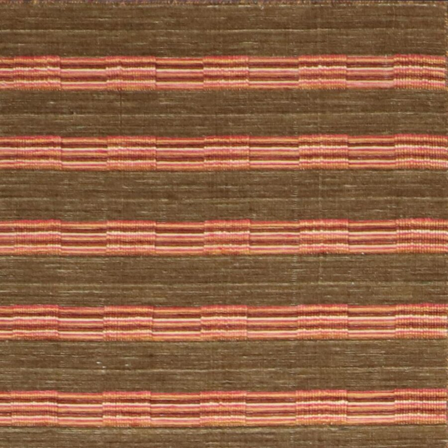 """5'8""""x7'10"""" Contemporary Brown Wool Flat-weave Hand-Knotted Rug - Direct Rug Import   Rugs in Chicago, Indiana,South Bend,Granger"""