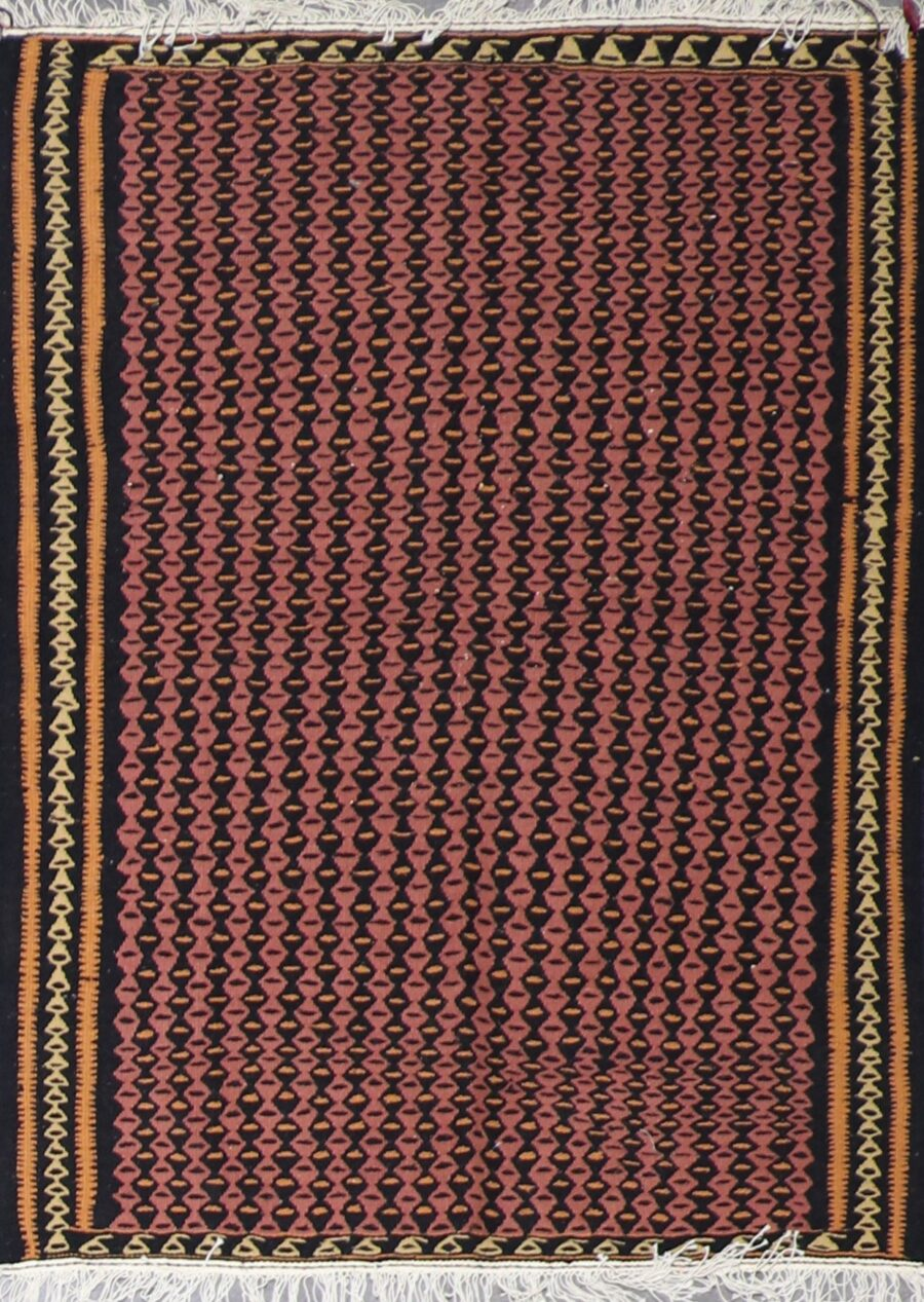 """3'5""""x4'8"""" Decorative Pink Wool Hand-Knotted Rug - Direct Rug Import   Rugs in Chicago, Indiana,South Bend,Granger"""