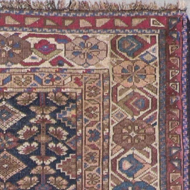 """3'7""""x13'6"""" Antique Persian Traditional Wool Hand-Knotted Rug - Direct Rug Import   Rugs in Chicago, Indiana,South Bend,Granger"""