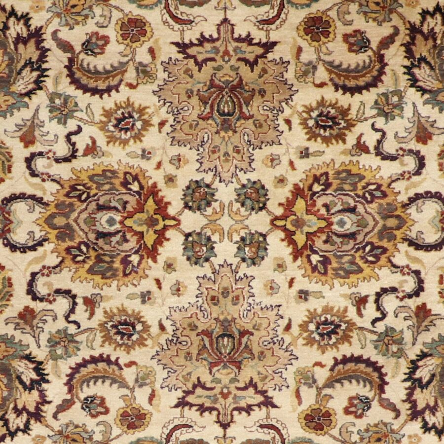6'x9' Traditional Ivory Peshawar Wool Hand-Knotted Rug - Direct Rug Import | Rugs in Chicago, Indiana,South Bend,Granger