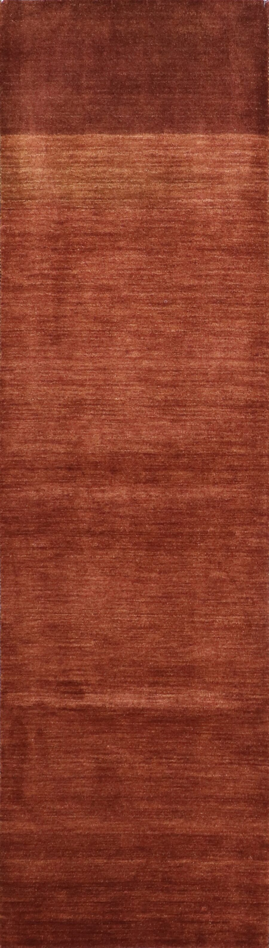 """2'8""""x9'9"""" Contemporary Brown Wool Hand-Knotted Rug - Direct Rug Import   Rugs in Chicago, Indiana,South Bend,Granger"""