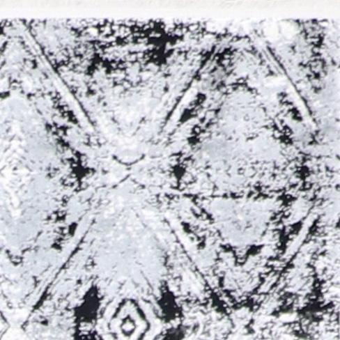 """2'7""""x10' Contemporary Gray&Ivory Wool & Silk Hand-Finished Rug - Direct Rug Import 