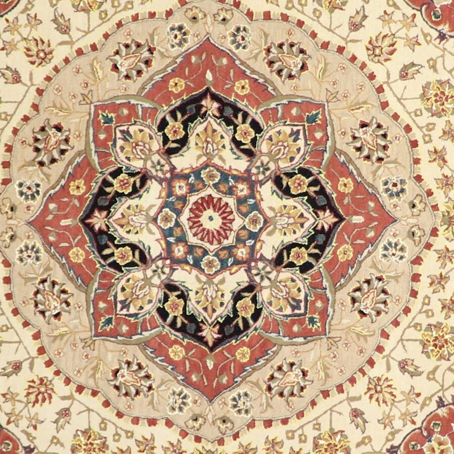 10'x10' Traditional Round Wool Hand-Tufted Rug - Direct Rug Import | Rugs in Chicago, Indiana,South Bend,Granger
