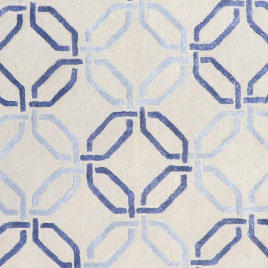 """5'x8'1"""" Contemporary Wool & Silk Hand-tufted Rug - Direct Rug Import   Rugs in Chicago, Indiana,South Bend,Granger"""
