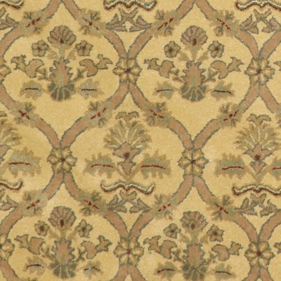 """6'2""""x6'2"""" Decorative Tan Wool Hand-Tufted Rug - Direct Rug Import 