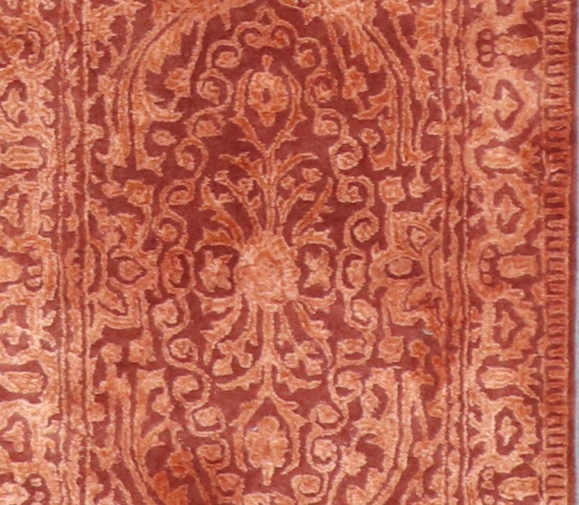 """2'8""""x7'11"""" Decorative Wool & Silk Hand-Tufted Rug - Direct Rug Import 