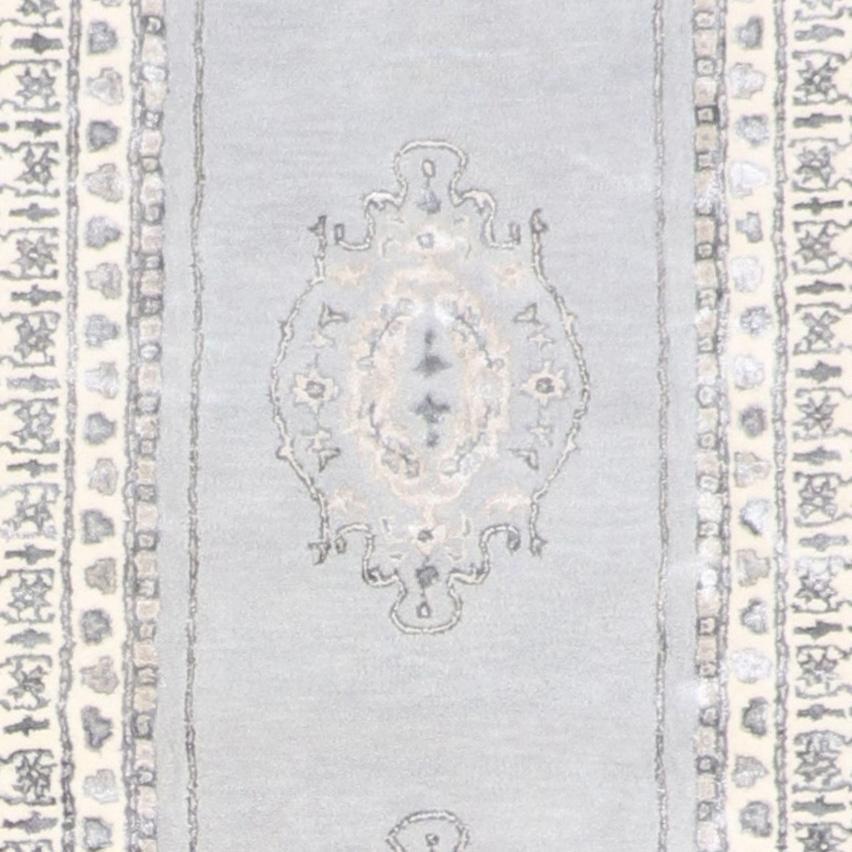 """2'9""""x12' Decorative Vintage Wool & Silk Hand-Tufted Rug - Direct Rug Import   Rugs in Chicago, Indiana,South Bend,Granger"""