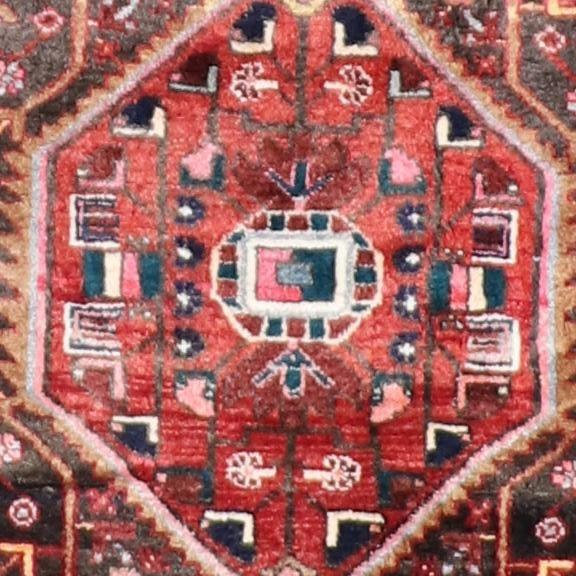 """4'x6'5"""" Decorative Tribal Wool Hand-Knotted Rug - Direct Rug Import   Rugs in Chicago, Indiana,South Bend,Granger"""