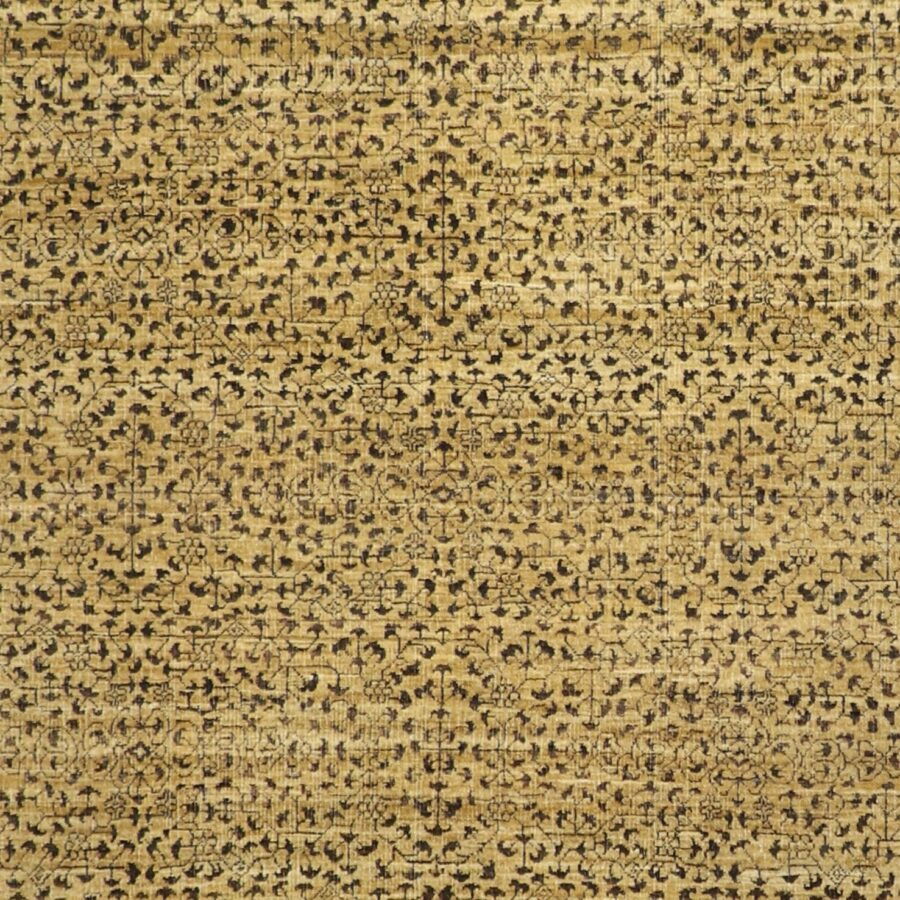 """6'1""""x9' Transitional Gold Wool Hand-Knotted Rug - Direct Rug Import   Rugs in Chicago, Indiana,South Bend,Granger"""