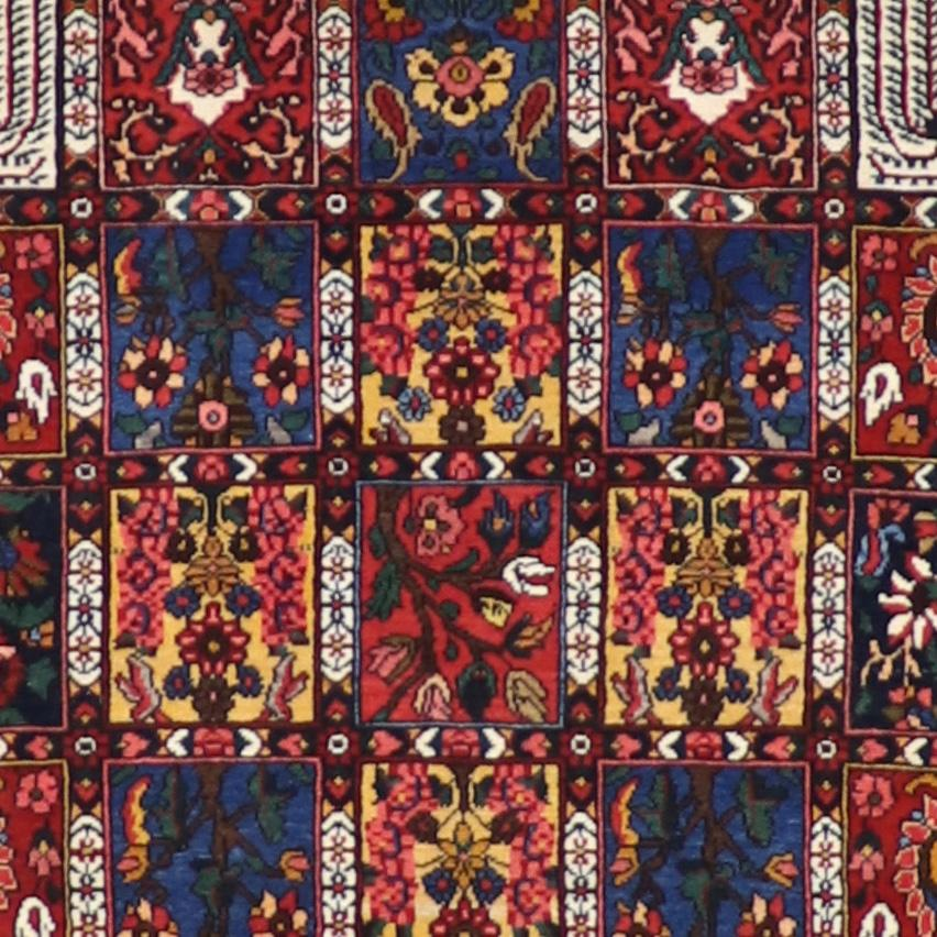 """4'10""""x7'10""""Traditional Wool Hand-Knotted Rug - Direct Rug Import 
