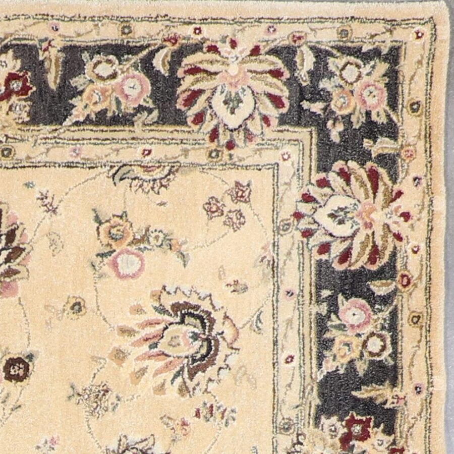 """5'8""""x8'10"""" Traditional Kashan Wool Hand-Tufted Rug - Direct Rug Import   Rugs in Chicago, Indiana,South Bend,Granger"""