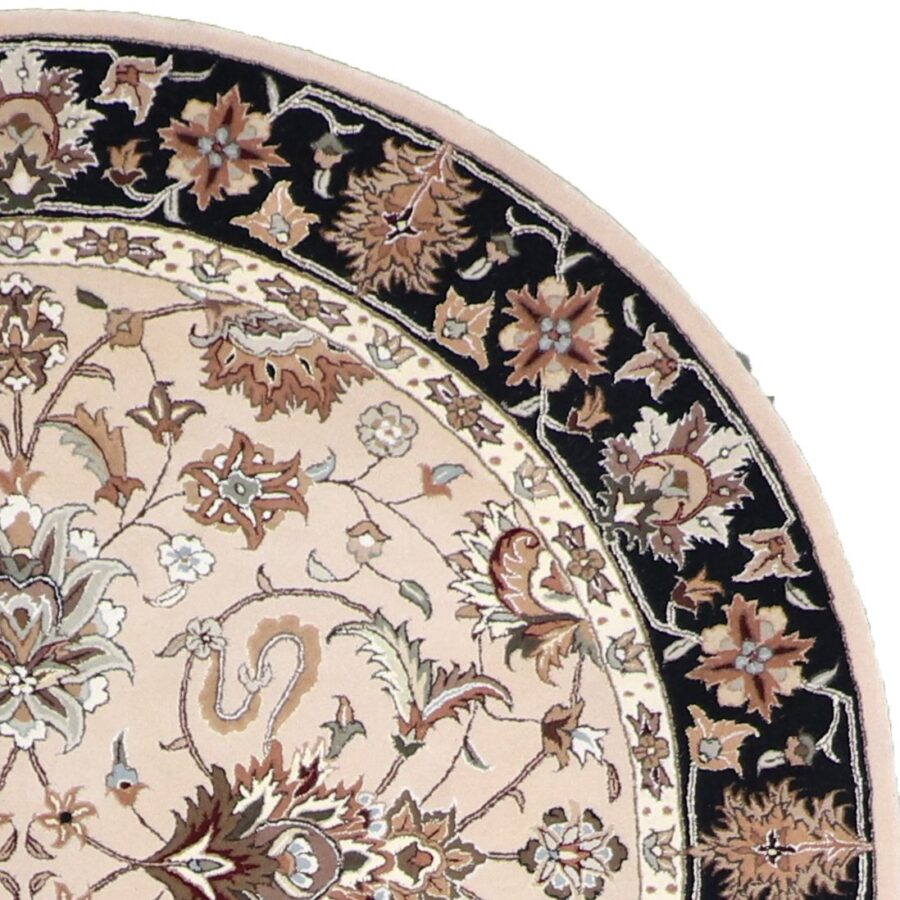 6'x6' Decorative Round Wool & Silk Hand-Tufted Rug - Direct Rug Import | Rugs in Chicago, Indiana,South Bend,Granger