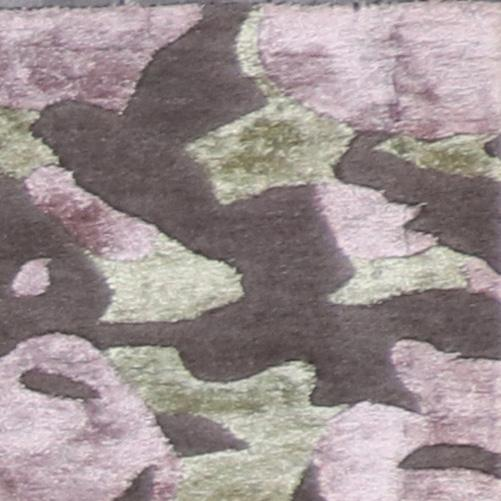 """2'6""""x8' Contemporary Wool & Silk Hand-Tufted Rug - Direct Rug Import 