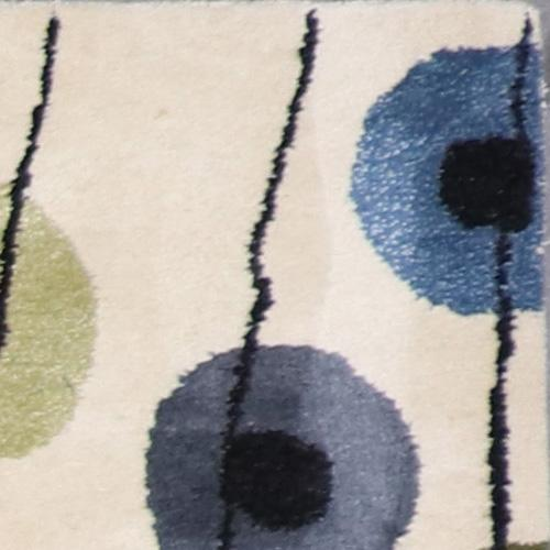 """2'7""""x8' Contemporary Wool Hand-Tufted Rug - Direct Rug Import 