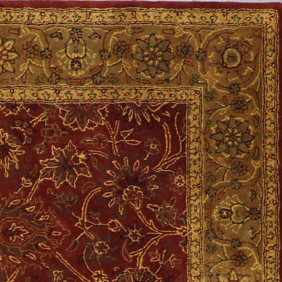 """5'5""""x8'5"""" Traditional Wool Hand-Tufted Rug - Direct Rug Import 