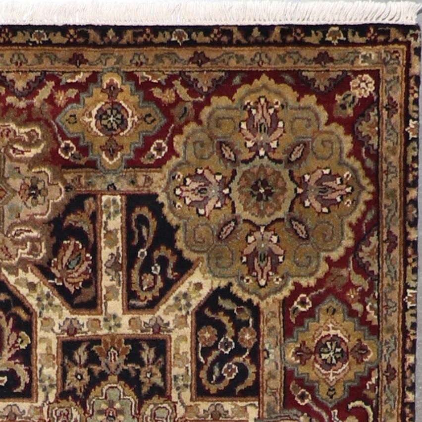 """5'x8'3"""" Traditional Yazed Wool Hand-Knotted Rug - Direct Rug Import   Rugs in Chicago, Indiana,South Bend,Granger"""