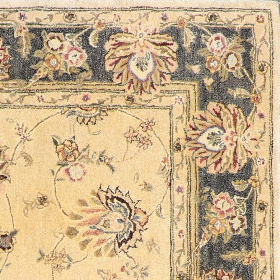 """5'9""""x9' Traditional Kashan Wool Hand-Tufted Rug - Direct Rug Import 