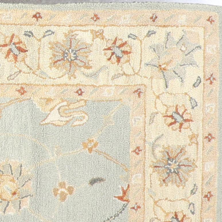 """5'3""""x7'3"""" Traditional Hook Wool Hand-Tufted Rug - Direct Rug Import 
