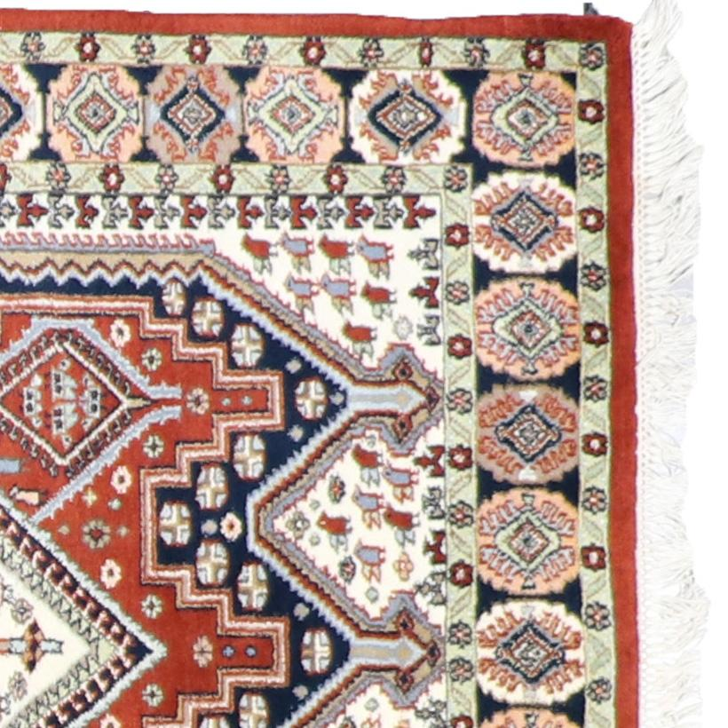 """4'1""""x6'1"""" Traditional Wool Hand-Knotted Rug - Direct Rug Import   Rugs in Chicago, Indiana,South Bend,Granger"""