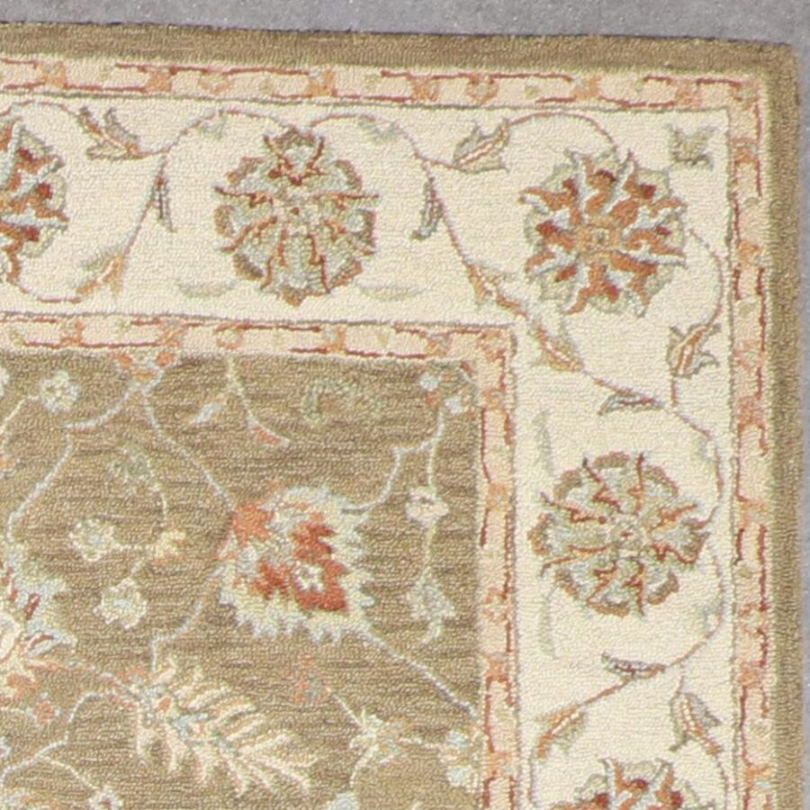 """5'5""""x7'4"""" Traditional Hook Wool Hand-Tufted Rug - Direct Rug Import   Rugs in Chicago, Indiana,South Bend,Granger"""