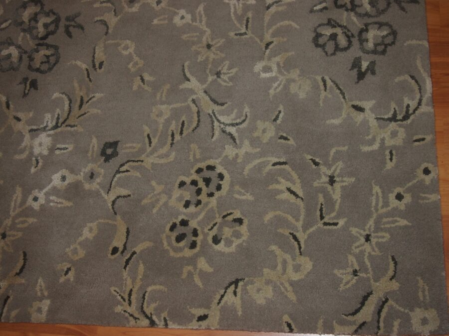 4'11'' X 7'11'' Overall Modern  Ivory Rectangular Wool & Viscose Rug - Direct Rug Import | Rugs in Chicago, Indiana,South Bend,Granger