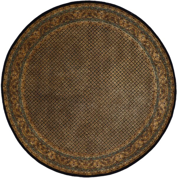 """10'1""""x10'1"""" Decorative Round Wool Hand-Tufted Rug - Direct Rug Import 