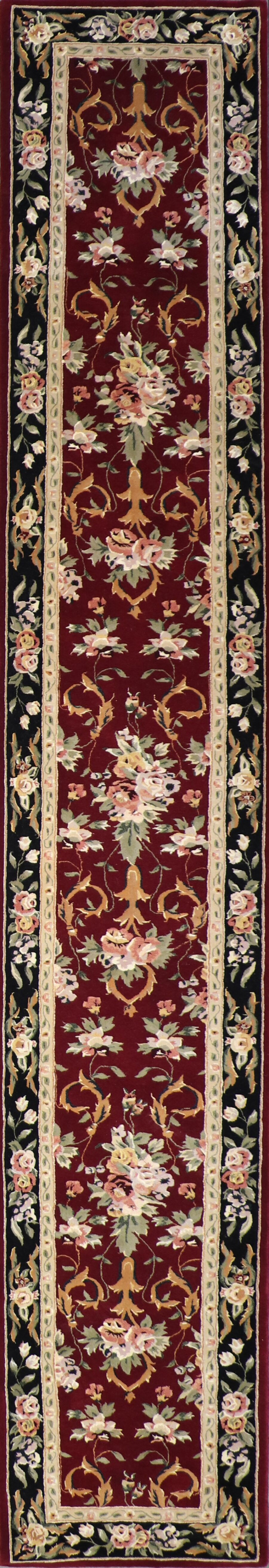 """2'6""""x16' Traditional Tabriz Wool Hand-Tufted Rug - Direct Rug Import   Rugs in Chicago, Indiana,South Bend,Granger"""