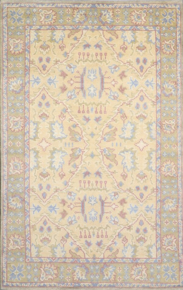 """5'5""""x8'8"""" Decorative Wool Hand-Knotted Rug - Direct Rug Import 