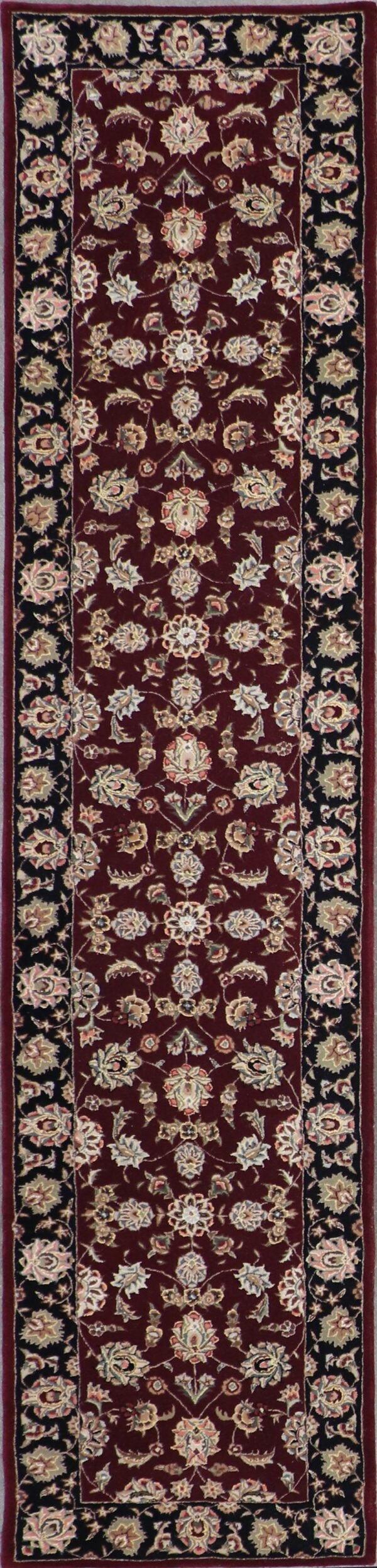 """2'7""""x11'9"""" Decorative Wool & Silk Hand-Tufted Rug - Direct Rug Import 