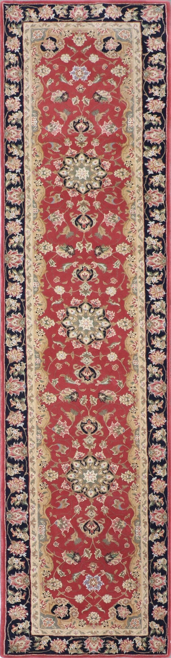 """2'6""""x12' Traditional Wool Hand-Tufted Rug - Direct Rug Import 