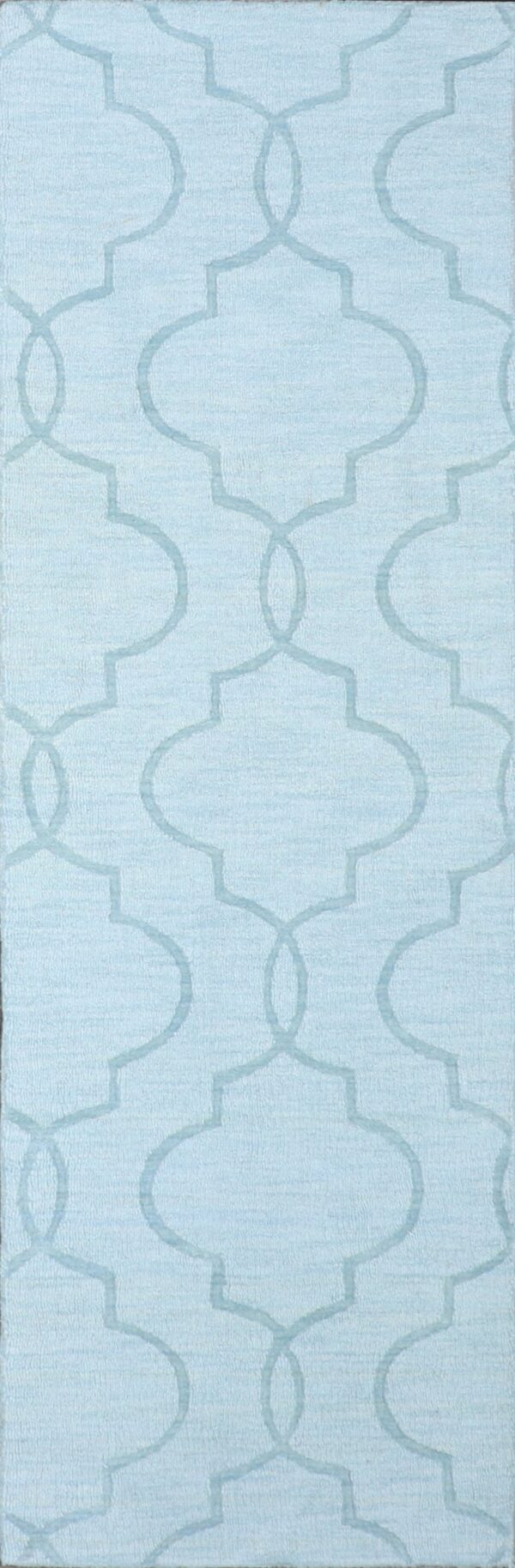 """2'6""""x7'11"""" Contemporary Wool Hand-Tufted Rug - Direct Rug Import 