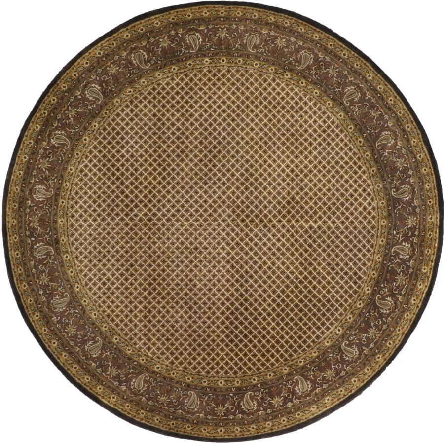 10'x10' Decorative Round Wool Rug - Direct Rug Import   Rugs in Chicago, Indiana,South Bend,Granger