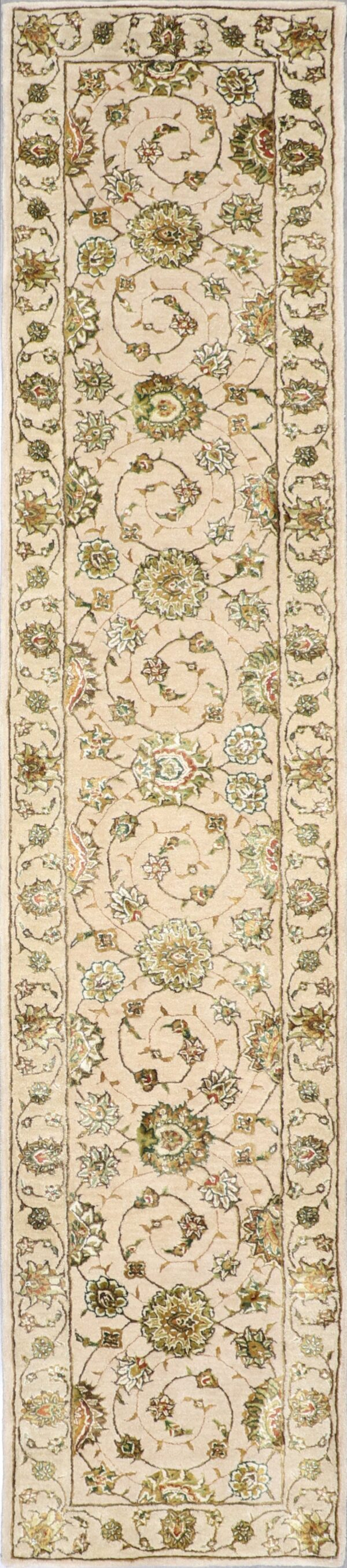"""2'5""""x12' Decorative Wool & Silk Hand-Tufted Rug - Direct Rug Import 