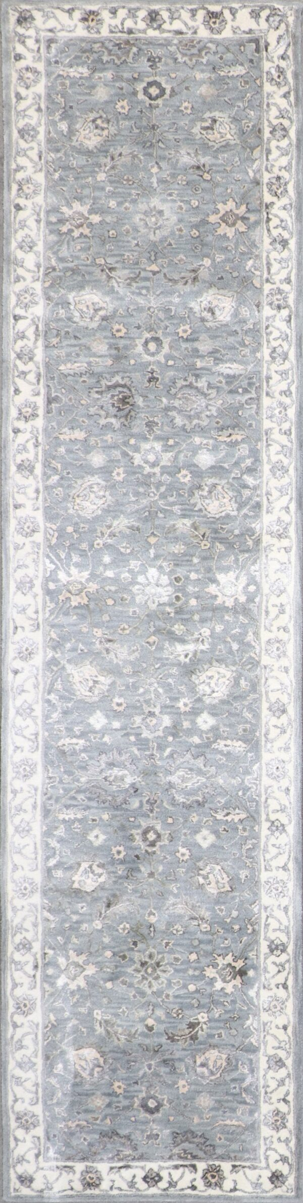 3'x12' Decorative Vintage Wool & Silk Hand-Tufted Rug - Direct Rug Import | Rugs in Chicago, Indiana,South Bend,Granger