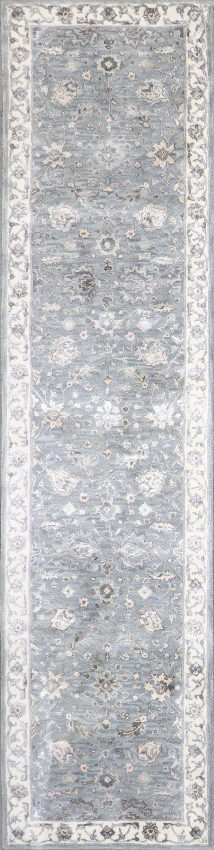 3'x12' Decorative Vintage Wool & Silk Hand-Tufted Rug - Direct Rug Import   Rugs in Chicago, Indiana,South Bend,Granger