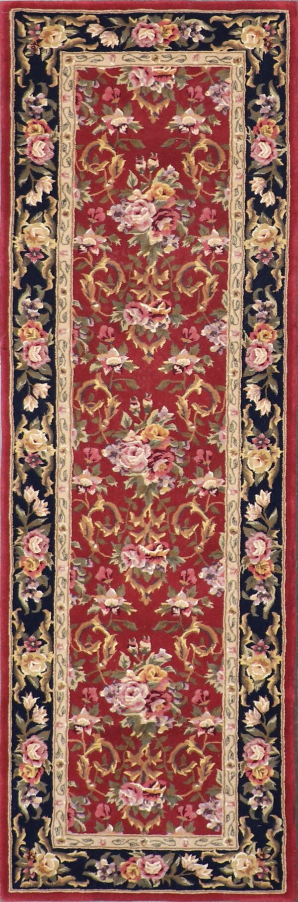"""2'6""""x8' Decorative Wool & Silk Hand-Tufted Rug - Direct Rug Import 
