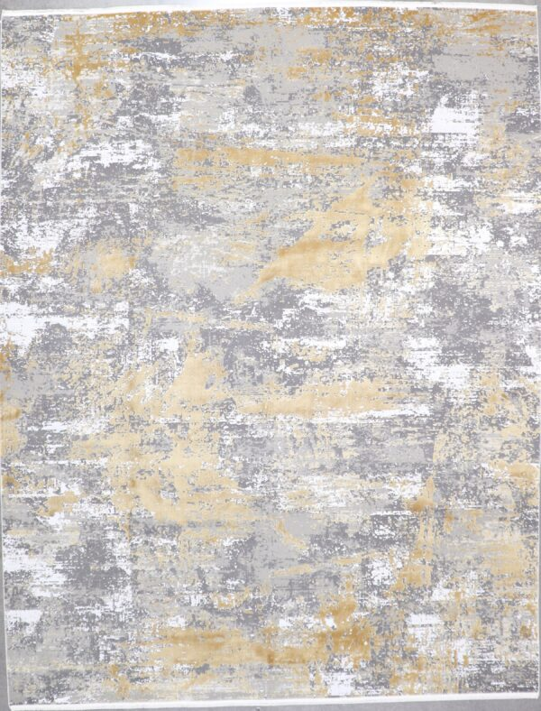 """7'7""""x9'8"""" Contemporary Wool & Silk Hand-Finished Rug - Direct Rug Import 