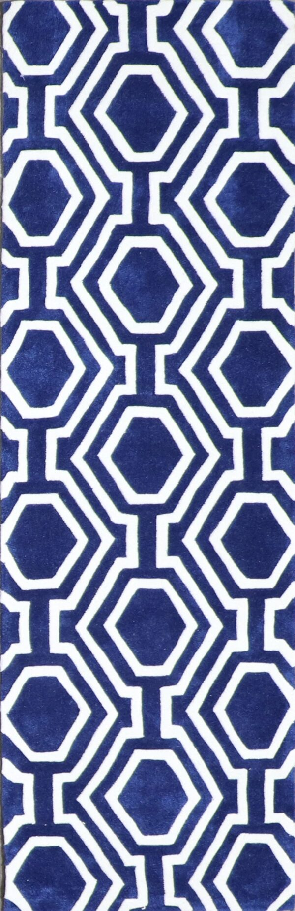 """2'3""""x7'5"""" Contemporary Wool Hand-Tufted Rug - Direct Rug Import 