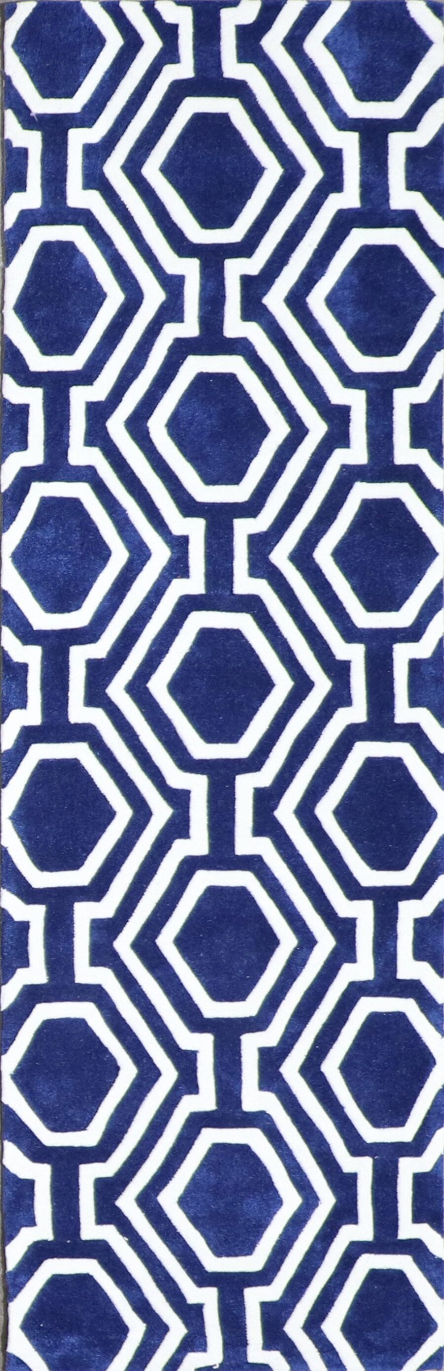 """2'3""""x7'5"""" Contemporary Wool Hand-Tufted Rug - Direct Rug Import   Rugs in Chicago, Indiana,South Bend,Granger"""