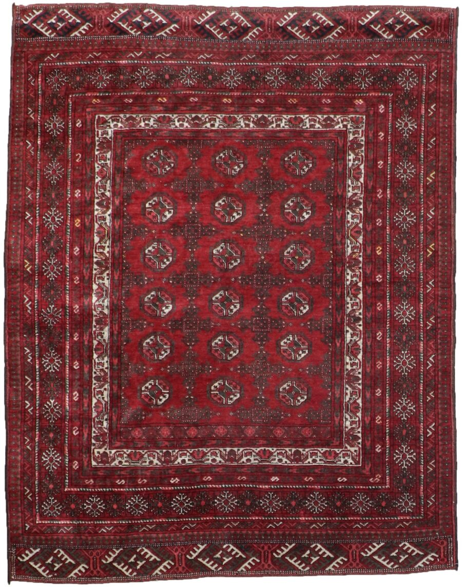 """4'6""""x5'8"""" Traditional Wool Hand-Knotted Rug - Direct Rug Import   Rugs in Chicago, Indiana,South Bend,Granger"""