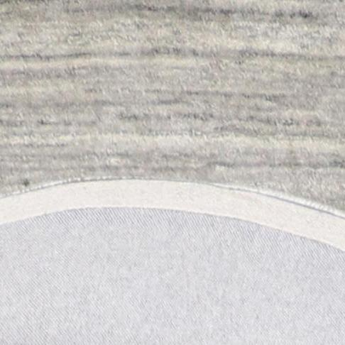 """3'6""""x3'6"""" Modern Round Wool Rug - Direct Rug Import 